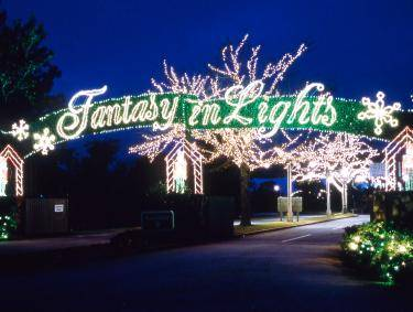 Fantasy in Lights in Pine Mountain, Georgia