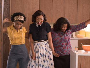 Janelle Monae, Taraji P. Henson and Octavia Spencer in Hidden Figures