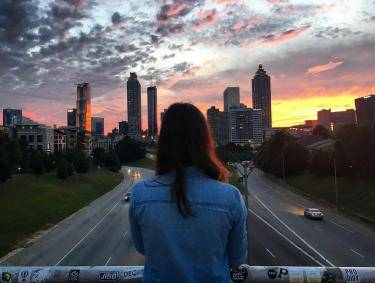 Jackson Street Bridge in Atlanta, Georgia. Photo by Michelle Asci, @michelleasci