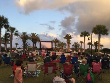 Jekyll Island Movies on the Village Green