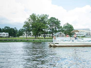 Lake Blackshear Resort pontoon rentals