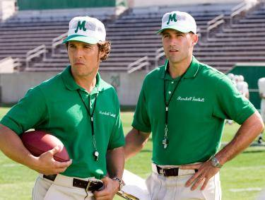 "Matthew McConaughey and Matthew Fox in ""We Are Marshall"