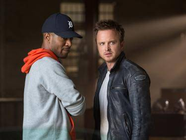 "Scott Mescudi and Aaron Paul in DreamWorks Pictures' 2014 ""Need for Speed"