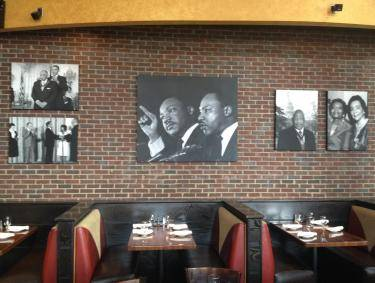 Civil rights photography at Paschal's Restaurant in Atlanta, Georgia