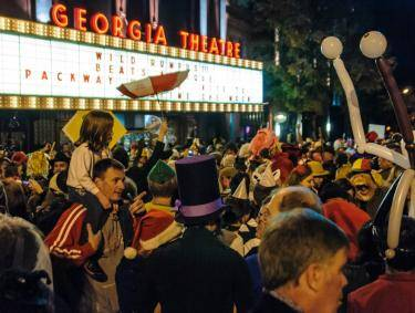 Wild Rumpus Halloween Parade and Spectacle in Athens, Georgia