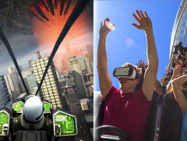 Virtual Reality Experience at Six Flags Over Georgia
