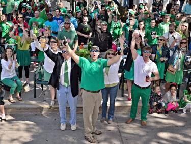 Savannah puts on the second-largest St. Patrick's Day parade in the United States