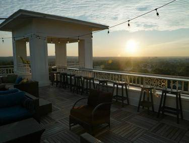 The Partridge Inn Rooftop Bar in Augusta, Georgia