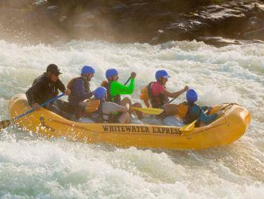 Whitewater rafting in Columbus