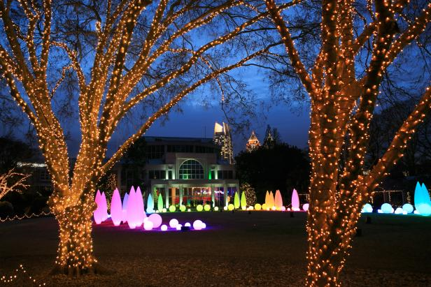 Garden Lights, Holiday Nights at the Atlanta Botanical Garden
