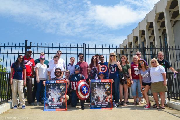 Captain America: Civil War Film Tour   Official Georgia