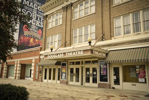 Historic Douglass Theatre in Macon, Georgia