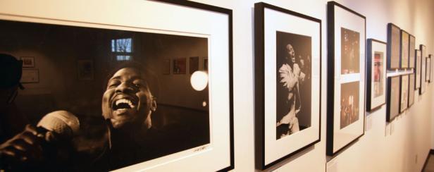 photos at the Tubman Museum in Macon, Georgia