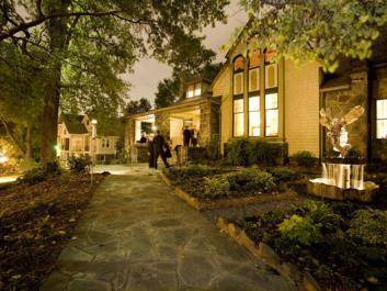 Stonehurst at night - perfect for your small gathering or event