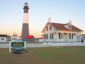 Tybee Lighthouse and Keepers Quarters