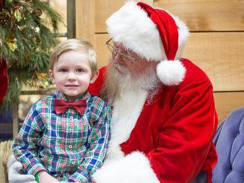 Special Moments with Santa at The Rock Ranch's Country Christmas Nights!