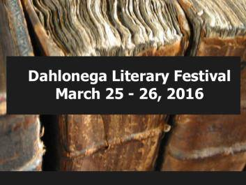 The 13th Annual Dahlonega Literary Festival features national and Georgia award winning authors.