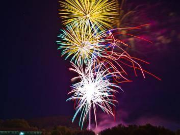 Dahlonega 4th of July Fireworks
