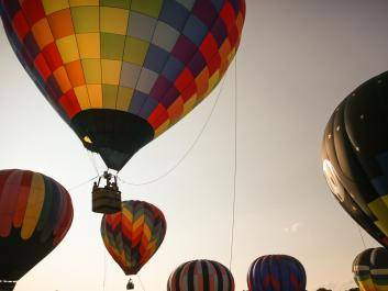 Hot Air Balloon Festival, Labor Day Weekend