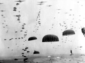 Remember Operation Market Garden, the biggest airborne operation of World War II.