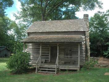 Andrew Jackson Reid Log Cabin 1700