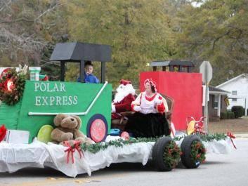Polar Express with Santa