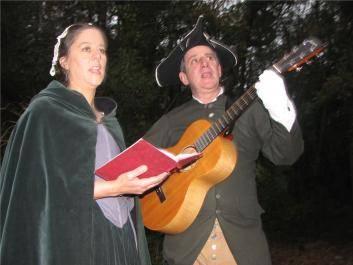 Caroling at Fort Morris