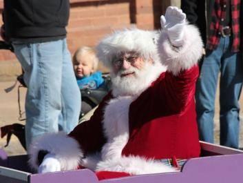 Arrival of Santa Claus