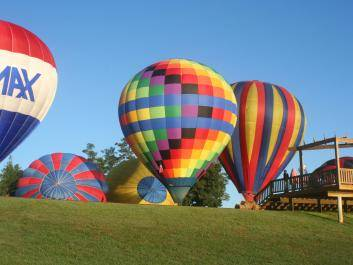Hot Air Balloon Rides at The Rock Ranch - Weather Permitting