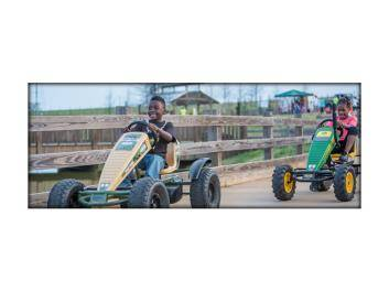 Pedal Carts add to the fun at The Rock Ranch