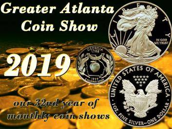 Greater Atlanta Coin Show 2019
