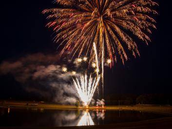 Spectacular Fireworks Show at The Rock Ranch