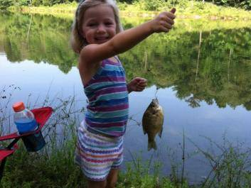 Fun times at Buck Shoals Kids Fishing Events!