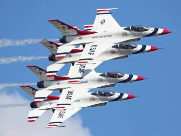 USAF Thunderbirds will headline the Wings Over North Georgia Airshow October 24-25, 2020