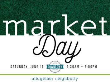 Market Day, Downtown Carrollton, June 15, 2019. carrolltonmainstreet.com