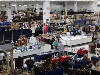 Shoppers converge on Scott Antique Markets in Atlanta