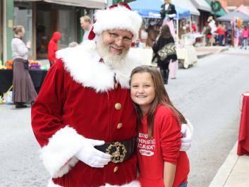 Santa at event
