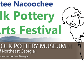 The Folk Pottery Show & Festival features folks potters from northeast Georgia as well as other traditional craftsmen.