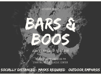 Athens Haunted Bars & Boos Tour
