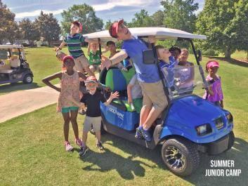 Annual Junior Summer Camp at Cherokee Run Golf Club