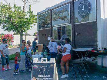 A great food truck choice in Olde Town Conyers
