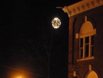 Possum Drop New Years Eve Ball