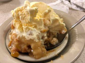 Homemade cobbler