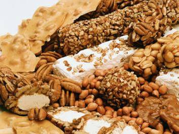 Dillon's famous brittles, pralines, pecan logs and divinity!