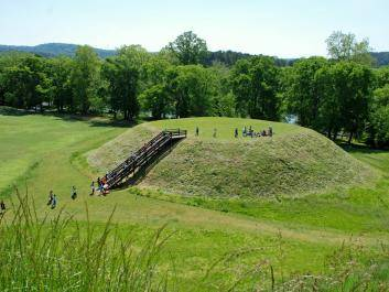 Mound C at Etowah Indian Mounds