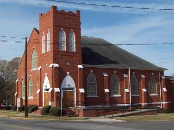 Dr. Martin Luther King Jr. made his first public speech in 1944 at First African Baptist Church
