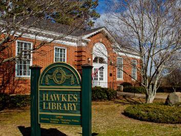 Hawkes Library in West Point, GA
