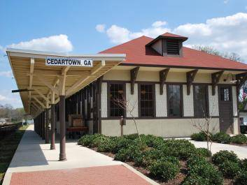 The Cedartown Depot