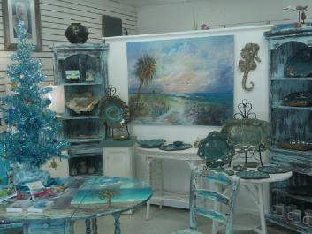 Debbie Brady Robinson Signature Gallery features coastal inspired art