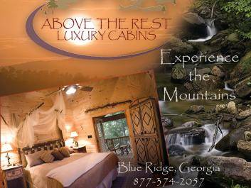 Above the Rest Luxury Cabins - Experience the Mountains!